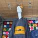 名駅のナナちゃん人形が、有松絞りの浴衣姿で暑い夏を涼しく演出!(2018年7月)